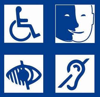 Sites et applications de banques pour les déficients visuels et les handicapés moteurs