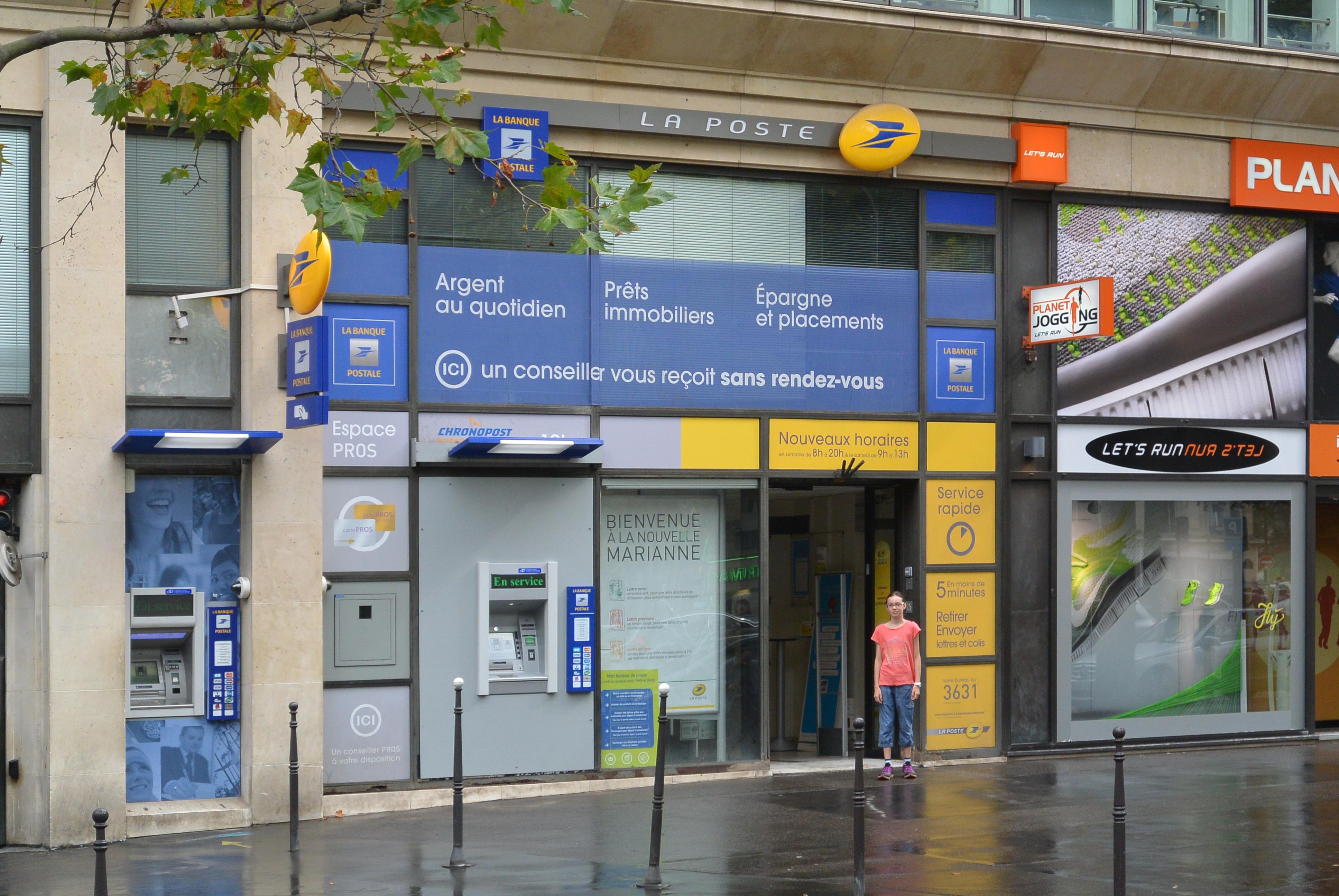 La Poste va ouvrir son nouveau service de banque en ligne d'ici 2018
