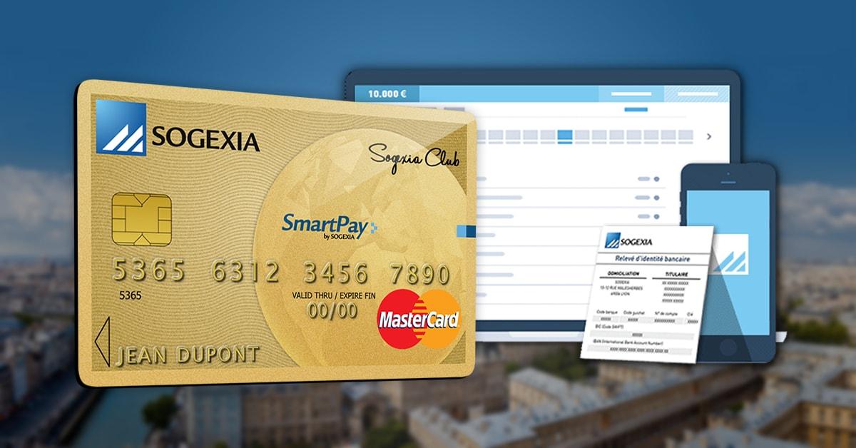 Sogexia : lancement du premier compte sans banque 100% digital