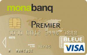Visa Premier de Monabanq, une offre sans condition de revenus