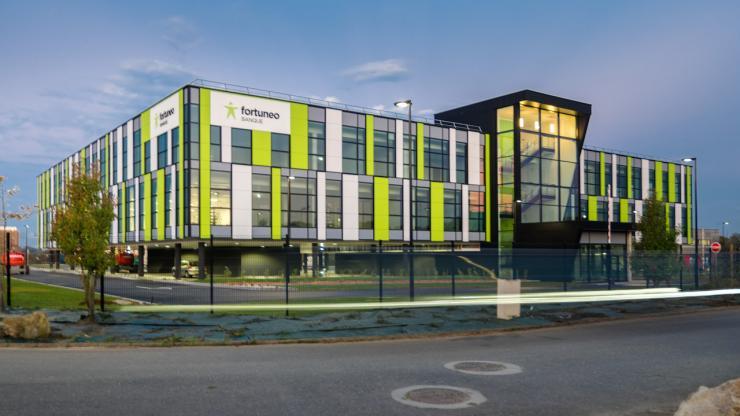 Fortunéo inaugure un centre physique : son siège en Bretagne